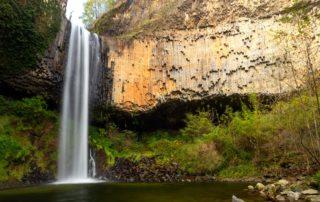 Pourcheyrolles waterfall