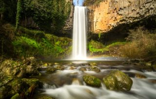 Pourcheyrolles waterfall