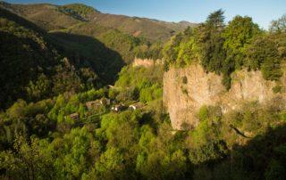 Thueyts - Coulée basaltique de la Chaussée des Géants ©S.BUGNON