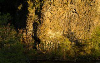Pont-de-Labeaume - Coulée basaltique ©S.BUGNON