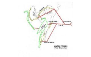 Prades - Plan des mines-puis chalmeton ©mairiedelalevade