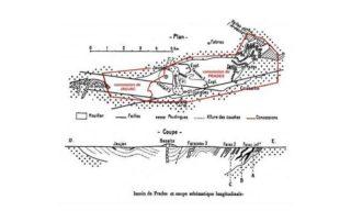 Prades - Plan des mines ©mairiedelalevade