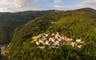 Chirols - Vue générale village