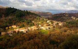 Fabras - Le village
