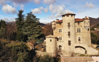 Meyras - Château de Hautsegur ©P.Demangeon ©Hugues Faure(2)