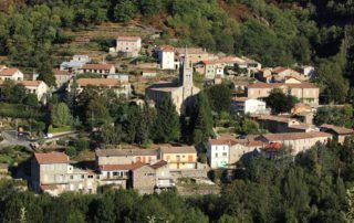 St Pierre de Colombier : le village