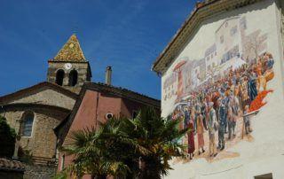 Parcours des fresques