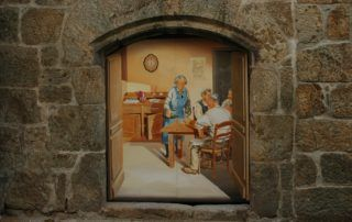 Chasse aux trésors sur le parcours des fresques