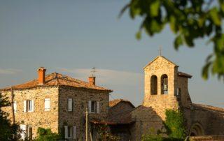 Saint-Cirgues-de-Prades - L'église romane-2-zoom église©S.BUGNON