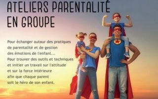 Ateliers parentalité en groupe