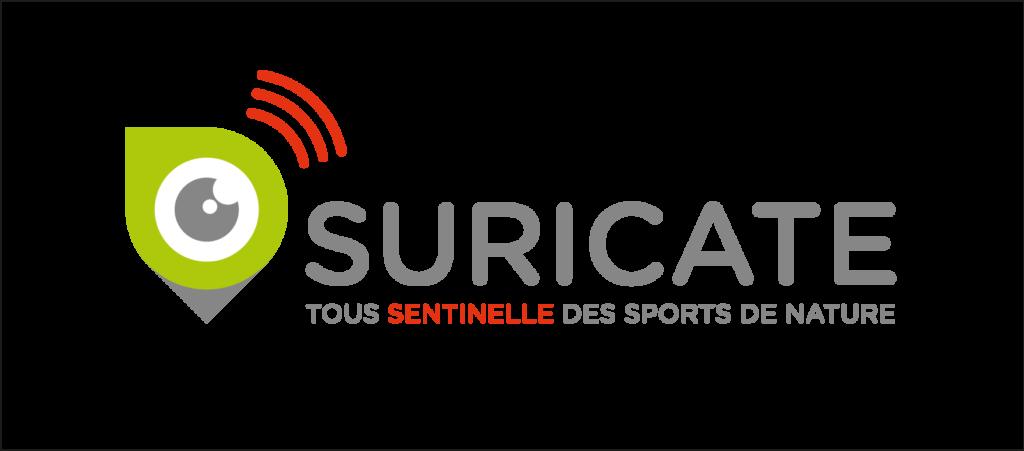 Logo suricate sentinelle des sports de natures