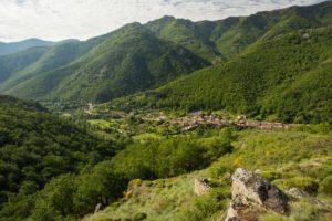 Mayres - Le village © S.Bugnon